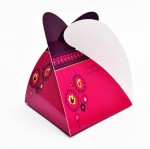 PrintSpeaks Pyramid Motif Design Gift Box