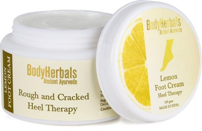 BodyHerbals Pedicure and Kits BodyHerbals Lemon Foot Cream, Rough & Cracked Heel Therapy