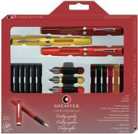 SRPC Sheaffer Calligraphy Maxi Kit 73404 Pen Gift Set (Pack Of 3, Blue, Black)