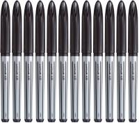 Uniball Air Roller Ball Pen (Pack Of 12, Black)
