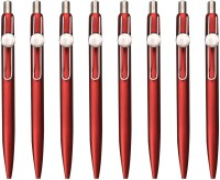 LUXANTRA Classic Red Roller Ball Pen (Pack Of 8, Blue)