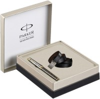 Parker Odyssey Twin Chiseled GT RBP With Leather Belt Pen Gift Set (Blue)