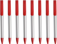 LUXANTRA Classic Red Roller Ball Pen (Pack Of 8, Blue) - PENEHDRQ2PEHE7QN