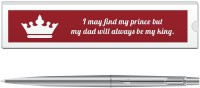 Parker Classic BP With Dad Quote 4 Pen Gift Set (Blue)