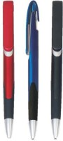 RIF Metal LooK Grip (Set Of 3 Pcs ) Ball Pen (Pack Of 3, Blue)