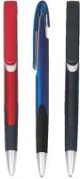 RIF Metal LooK Grip (Set Of 3 Pcs ) Ball Pen (Pack Of 3, Blue)