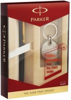Parker Vector BP With Key Chain Pen Gift Set (Blue)