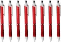 Zarsa Classic Red Roller Ball Pen (Pack Of 8, Blue) - PENEHEZ2AY5FUNTU