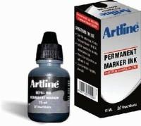 Artline Permanent - EK-107R - ESK- 15 Marker Ink (Pack Of 10, Black)