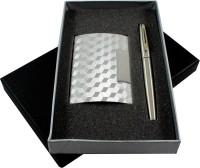 RadiusIn Roller Ball Pen Gift Set (Pack Of 2, Black)