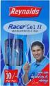 Reynolds Racer - II (Pack Of 40) Gel Pen - Blue