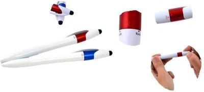 RIF Twisty 3 Refill Pen With Stylus (ultra Sleek) (Set Of 2 Pcs) Multi-function Pen (Pack Of 2, Multicolor)