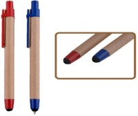 RIF Eco Pen (Set Of 2 Pcs) Ball Pen (Pack Of 2, Blue)