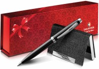 Sheaffer 100 (Black Ink) Pen Gift Set (Pack Of 2, Black)