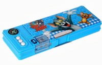 Warner Bros. Tom and Jerry Tom and Jerry Art Pencil Box Blue