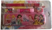 Rana School Products Barbie Plastic Pencil Boxes (Set Of 1, Pink)