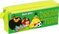 Angry Birds Dream Team Birds Art Plastic Pencil Box (Set Of 1, Green)