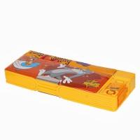 Warner Bros. Tom and Jerry Plastic Pencil Boxes Orange, Yellow