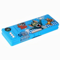 Warner Bros Tom and Jerry Plastic Pencil Boxes Blue