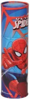 Disney Spiderman Cartoon Characters Art Metal Pencil Boxes (Set Of 1, Muticolor)