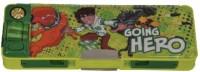Ben 10 Omniverse Cartoon Characters Art Plastic Pencil Box (Set Of 1, Muticolor)