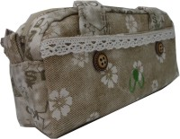 Starmark Bts Flowers Art Polyester Pencil Boxes (Set Of 1, Beige)