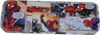 Disney Spiderman Superhero Art Metal Pencil Box (Set Of 1, Multicolor)