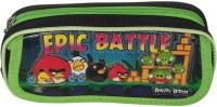 Excel Innovators Classic Cartoon Character Art Fabric Pencil Box (Set Of 1, Green)