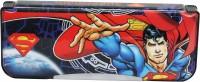 Warner Bros. Superman Superman Art Pencil Box Blue||Red