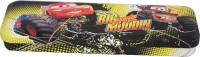 Disney Cars Cartoon Art Metal Pencil Box (Set Of 1, Multicolor)