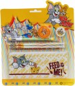 Warner Bros Tom & Jerry Plastic Pencil Boxes - Yellow