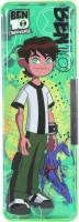 Cartoon Network Ben 10 Cartoon Art Magnetic Pencil Box (Set Of 1, Green)