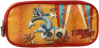 Tom & Jerry School Plastics Pencil Boxes (Set Of 1, Red)