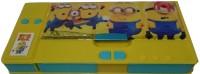 Gift Chachu Small Jumbo Minnions Art Plastic Pencil Box (Set Of 1, Multi Colour)