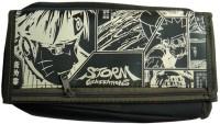 Vardhman Storm Pouch Children Art Cloth Pencil Box (Set Of 1, Green)