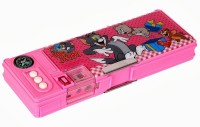 Warner Bros. Tom and Jerry Tom and Jerry Art Pencil Box Pink