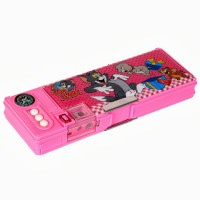 Warner Bros. Tom and Jerry Plastic Pencil Boxes Pink