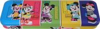 Disney Minnie Cartoon Art Metal Pencil Box (Set Of 1, Multicolor)