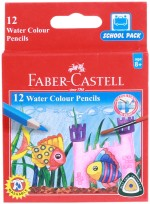 Faber Castell School Accessories Faber Castell School Water Color Round Shaped Pencils