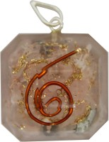 Aaradhi Divya Mantra Metaphysical Rose Quartz Reiki DVYM0001039 Agate Acrylic Pendant
