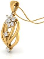 WearYourShine By PC Jewellers The Revona 14kt Diamond Yellow Gold Pendant