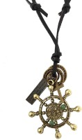Ammvi Creations Saviour Of The Sea Adjustable For Men Leather Pendant