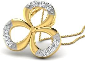 Fullcutdiamond 18kt Diamond Yellow Gold Pendant