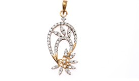 Jewel Fox 18kt Diamond Yellow Gold Pendant
