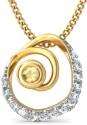 BlueStone The Torille Gold Pendant