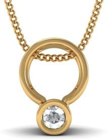 BlueStone The Thyla Yellow Gold Pendant