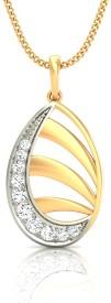 Gold n Stone The Star Rays 14K Diamond Gold Pendant