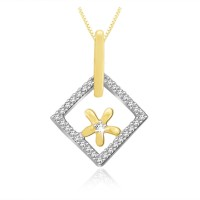 Sparkles Diamond Gold Pendant