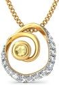 BlueStone The Torille Yellow Gold 14K Yellow Gold Plated Pendant