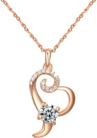 Kaizer Jewelry Love Forever 18K Rose Gold Plated Alloy Pendant